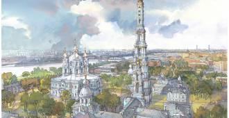 Нужна ли Петербургу звонница, которой никогда не было. За и против проекта колокольни Смольного собора