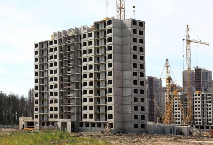 Строительство ЖК «Шуваловский» (14.08.15)