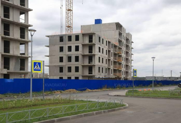 Микрорайон «Jaanila country»: ход строительства (15.10.2015)