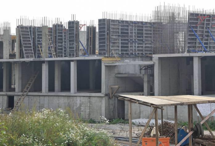 ЖК «O'Range»: ход строительства (сентябрь 2015)