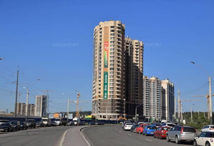 Ход строительства ЖК «Бумеранг» (19.10.2015)
