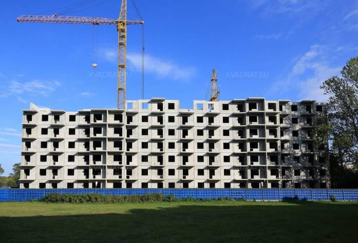 ЖК «Дважды два»: ход строительства (21.10.2015)