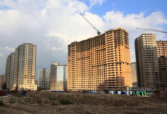 ЖК «Девятый вал»: ход строительства (29.09.2015)