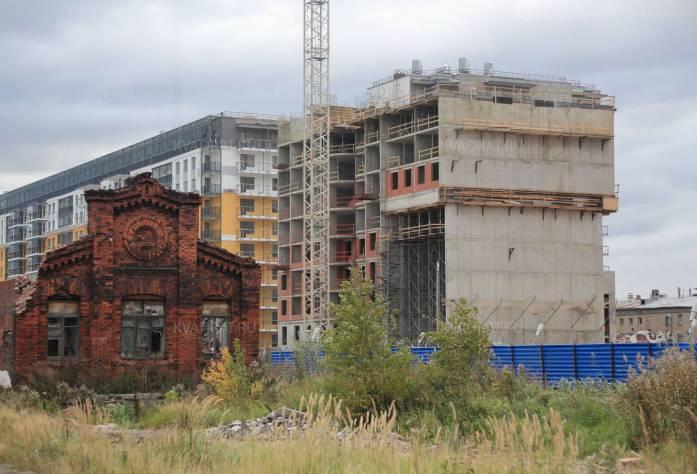 ЖК «Дом на Фрунзенской»: ход строительства (20.10.2015)