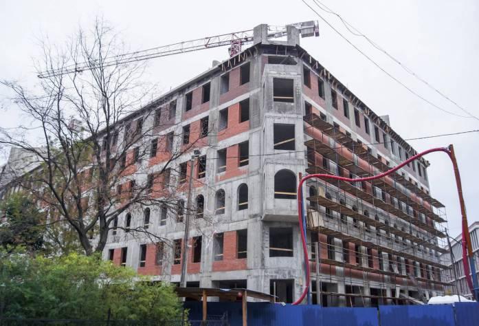 ЖК «Дом у Ратуши»: ход строительства (28.09.2015)