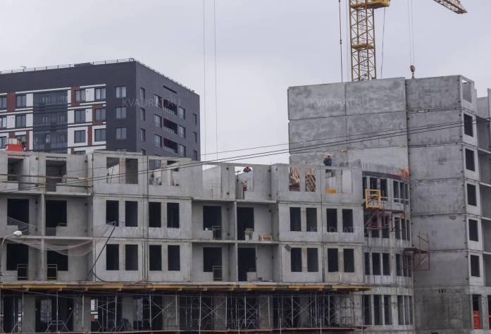 ЖК «Европа Сити»:ход строительства (27.09.2015)