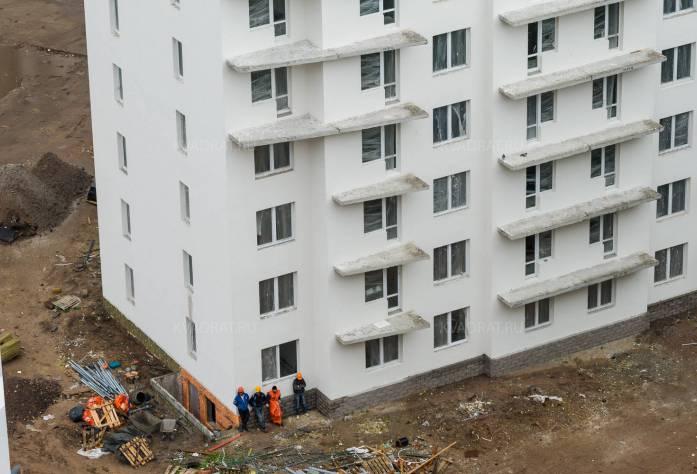 ЖК «Калина-парк-2»: ход строительства (14.08.2015)