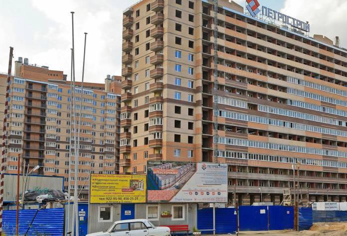 ЖК «Ласточка»: ход строительства (19.10.2015)