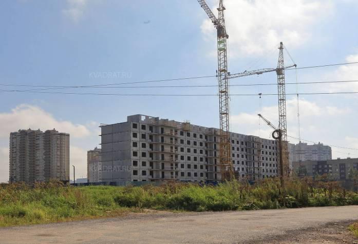 ЖК «Ленинградское трио»: ход строительства (28.09.2015)