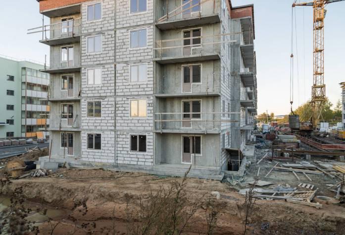 ЖК «Мандарин»: ход строительства (21.10.2015)