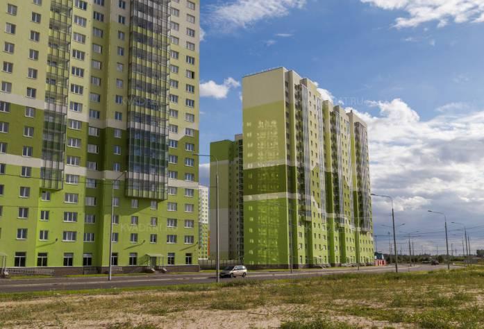 ЖК «Новая Охта»: ход строительства (27.09.2015)