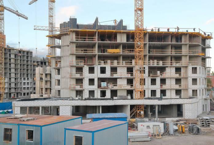 ЖК «Пифагор»: ход строительства (21.10.2015)