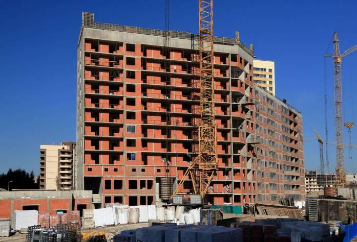 ЖК «Прогресс»: ход строительства (20.10.2015)