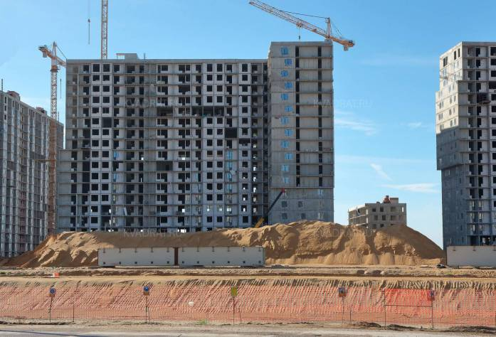 Жилой комплекс «Светлый мир «Я-Романтик»: ход строительства (20.10.2015)