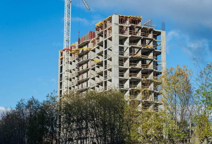 ЖК «Сириус»: ход строительства (21.10.2015)