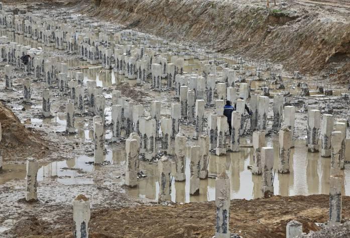 ЖК «Три кита»: ход строительства (27.09.2015)