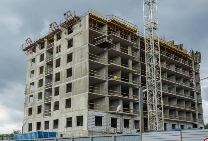 ЖК «Трилогия»: ход строительства (28.09.2015)