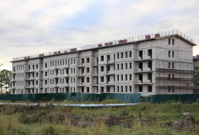 ЖК «Щегловская усадьба»: ход строительства (28.08.2015)