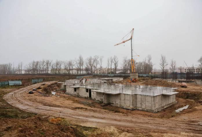 ЖК «Азбука»: ход строительства (ноябрь 2015)