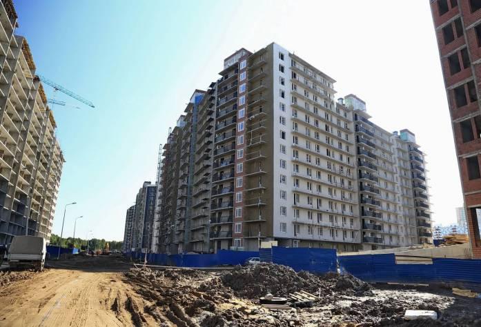 ЖК «Вернисаж»: ход строительства (ноябрь 2015)