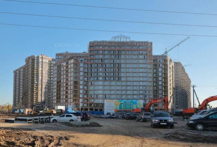 ЖК «Европейский»: ход строительства (ноябрь 2015)