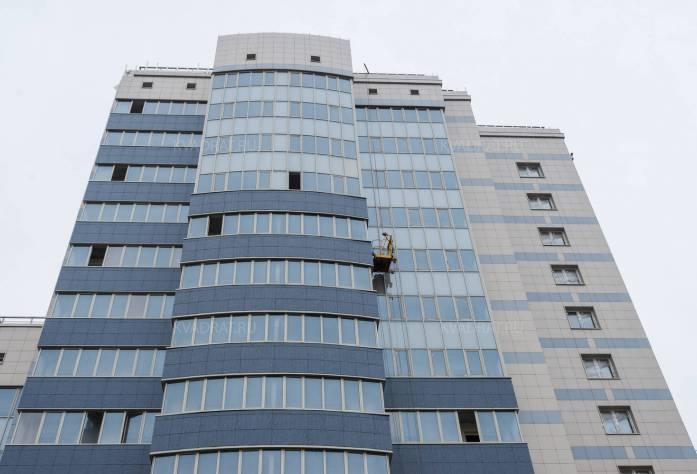 Жилой комплекс «Небо Москвы»: ход строительства (ноябрь 2015)