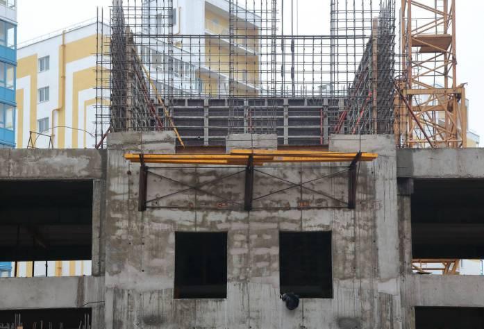 ЖК «Солнечный»: ход строительства (ноябрь 2015)