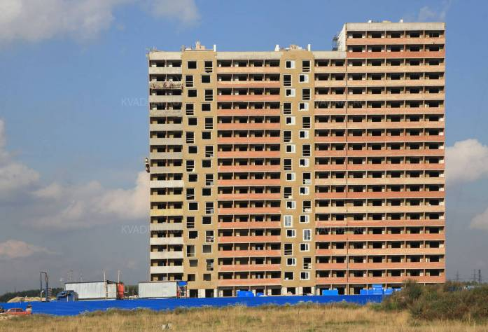 ЖК «Северная палитра»: ход строительства (октябрь 2015)