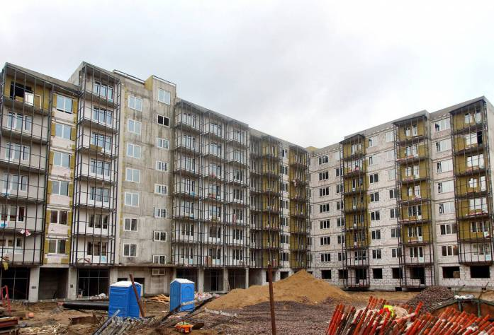 ЖК «Брусничный» (январь 2016)