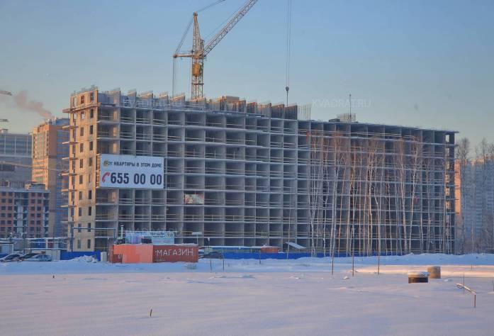 ЖК «Кудров-Хаус» (январь 2016)