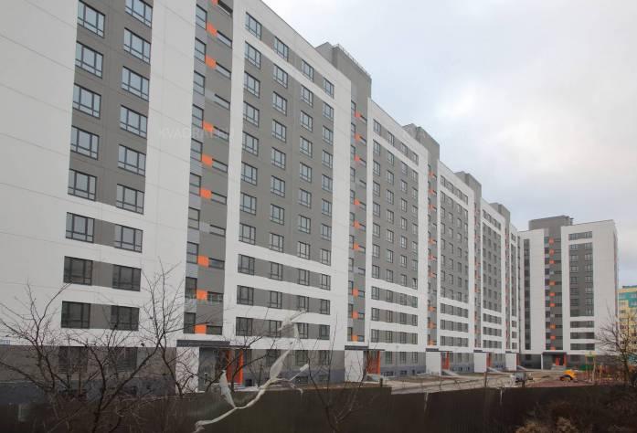 Строительство ЖК «Павловский» (январь 2016)