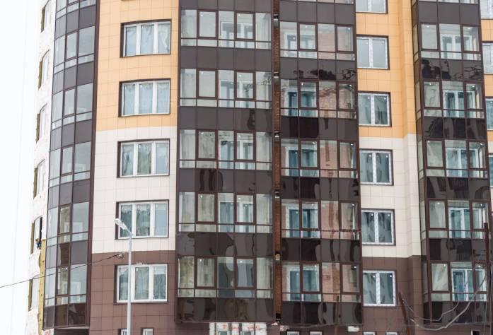 Строительство ЖК «Балтийская волна» (фасад): 28.02.16