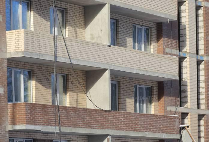Строительство ЖК «Весна-2» (фасад): 17.02.16