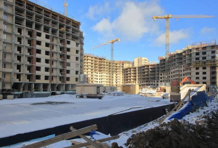 Строительство ЖК «Весна-2» (внешний вид): 17.02.16