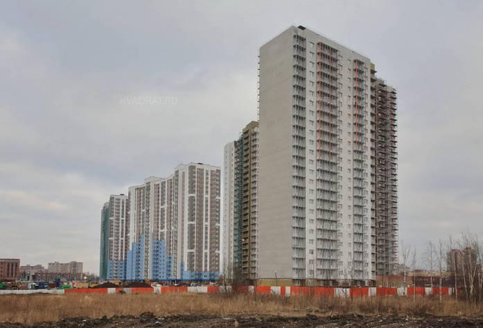 Строительство ЖК «Квартет» (внешний вид)