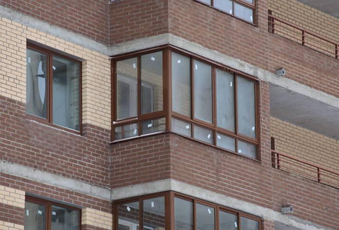 Строительство ЖК «Новое Мурино» (фасад)