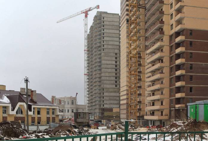 Строительство ЖК «Новое Мурино» (внешний вид)