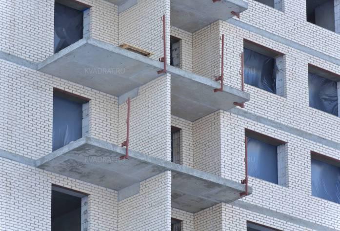 Строительство ЖК «Новые Горизонты» (фасад): 16.02.16