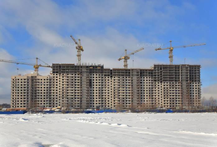 Строительство ЖК «Новые Горизонты» (внешний вид): 16.02.16