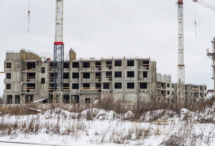 Строительство ЖК «Правый берег-3»: 28.02.16