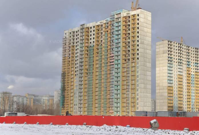 Строительство ЖК «София» (внешний вид)