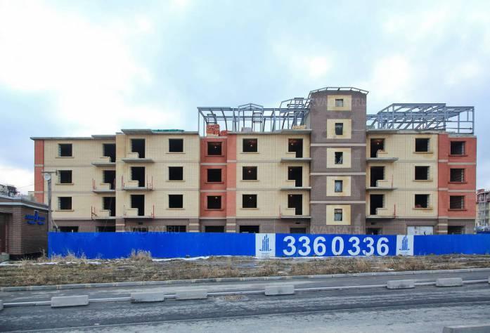 Строительство ЖК «Царский двор» (внешний вид)
