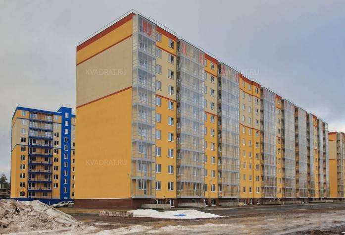 Строительство ЖК «Южная Поляна» (внешний вид)