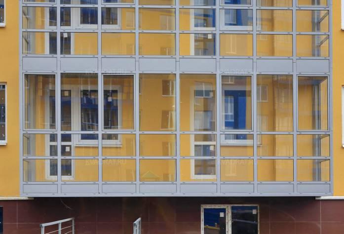 Строительство ЖК «Южная Поляна» (фасад)