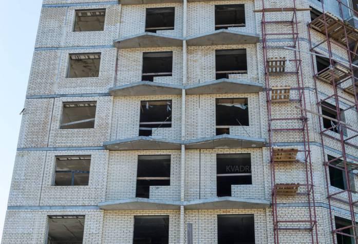 Строительство ЖК «Босфор»: фасад здания