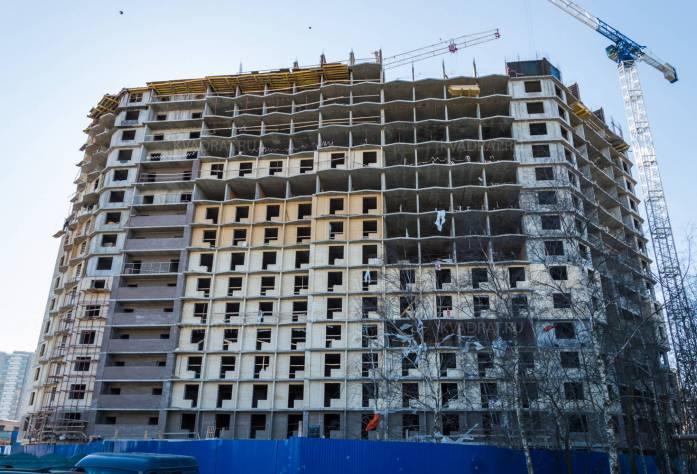 Строительство ЖК «Босфор»: общий вид