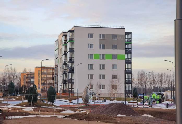 Строительство ЖК Gröna Lund