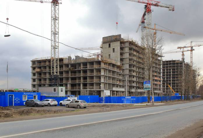 ЖК «ЖИВИ! в Рыбацком»: ход строительства