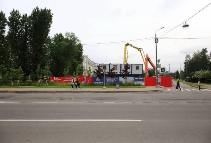 Строительство ЖК «Verona» (июль 2016)