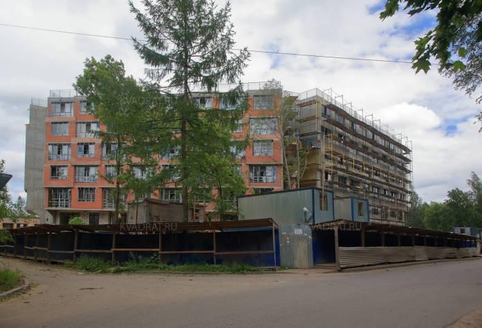 ЖК «Мозаика»: ход строительства (июль 2016)
